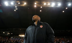 Thierry Henry made his managerial debut at Stade de la Meinau on Saturday.