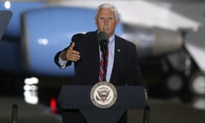 Mike Pence speaks in Tallahassee, Florida on Saturday.