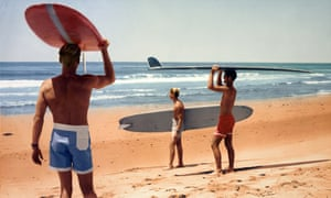 'Little rascals' … a scene from The Endless Summer, the around-the-world surfing documentary made by Bruce Brown, who died this week.