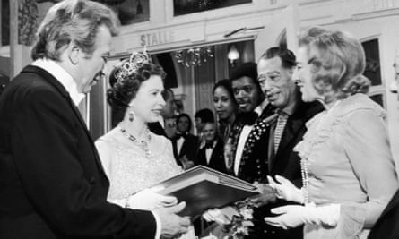 The Queen meets Vera Lynn (and Duke Ellington) in 1973.