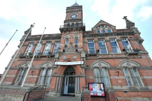 Stretford Public Hall was put on the market in 2013 by the cash-strapped local council.