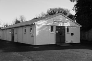 'Nondescript if not downright bleak' … the prefab Knowle Village Hall.