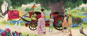 An animated sequence from Mary Poppins Returns.