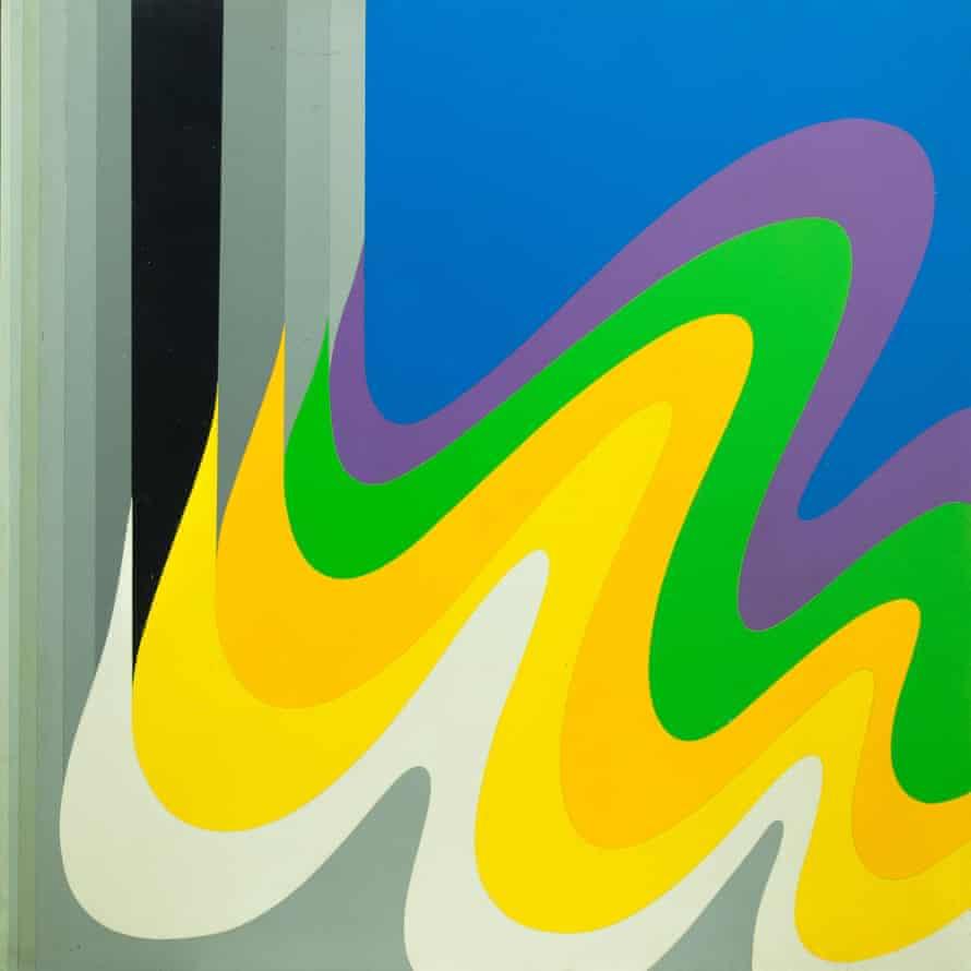 Untitled, 1980, by Mohamed Melehi