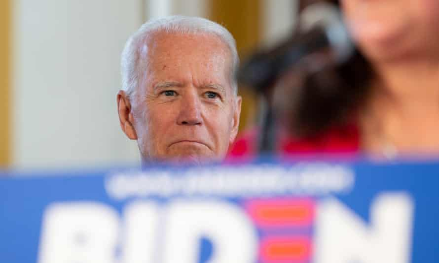 Biden's confident centrism stands in contrast with not just the rest of a leftward-moving Democratic field, but with much of the country as a whole