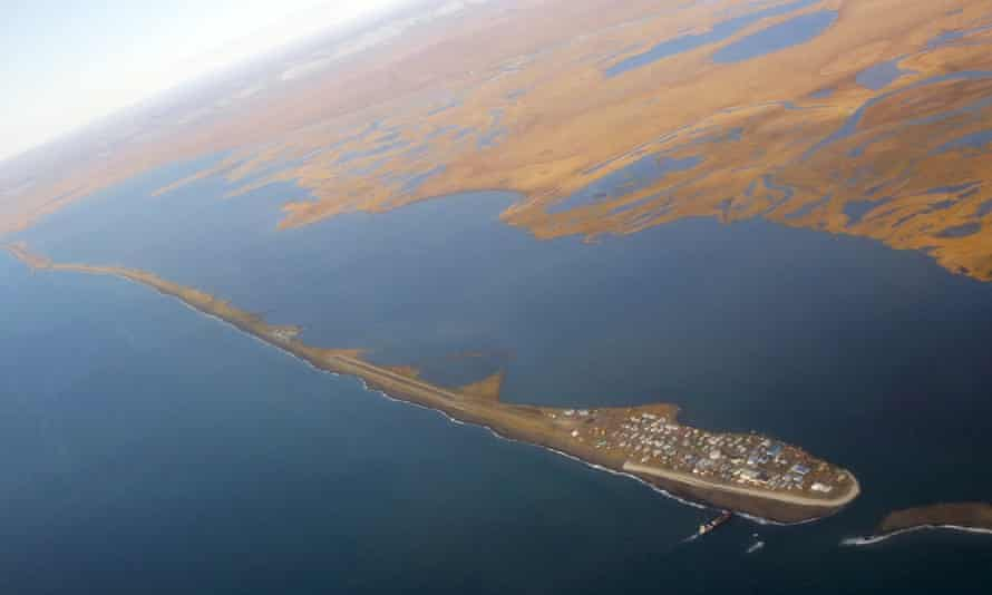 Alaska sea level climate change