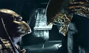Ready to grumble ... Alien vs Predator.