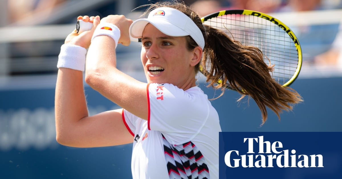 US Open: Johanna Konta finds consistency and guile to reach last 16