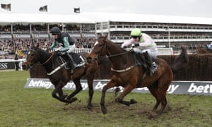 Altior ridden Nico de Boinville goes on to win the Queen Mother Champion Chase.