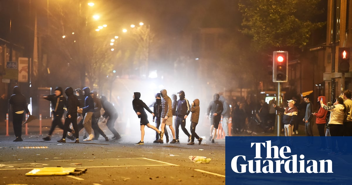 Northern Ireland's first minister joins calls for calm after Belfast riots