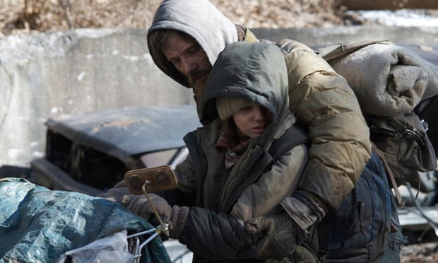 Kodi Smit-McPhee and Viggo Mortensen star in John Hillcoat's The Road, based on Cormac McCarthy's Pulizter Prize winning novel. THE ROAD Film Still
