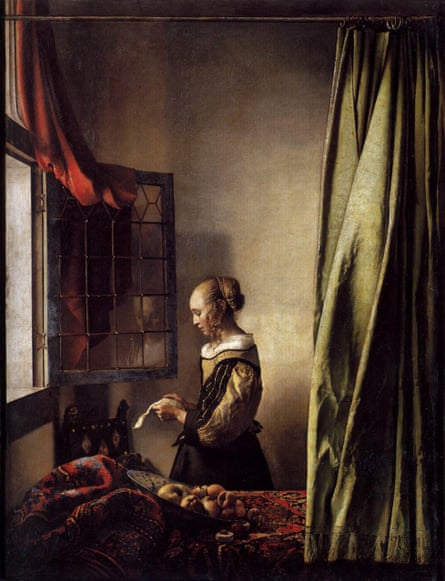 Vermeer's Girl Reading a Letter at an Open Window