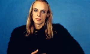 Blond ambition … Brian Eno in 1972.