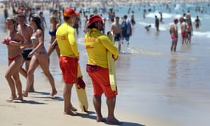 702ee4d321 Bathers cool off at Sydney s Bondi Beach. Photograph  William  West AFP Getty Images