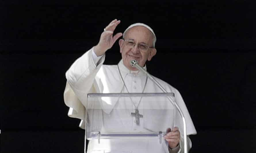 Pope Francis suggested that older, married men with a long commitment to the church could be considered as priests.