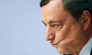 European Central Bank boss Mario Draghi.