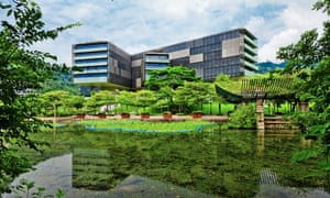 Vanke Center in Shenzhen is the new headquarters for Vanke, one of China's largest property developers