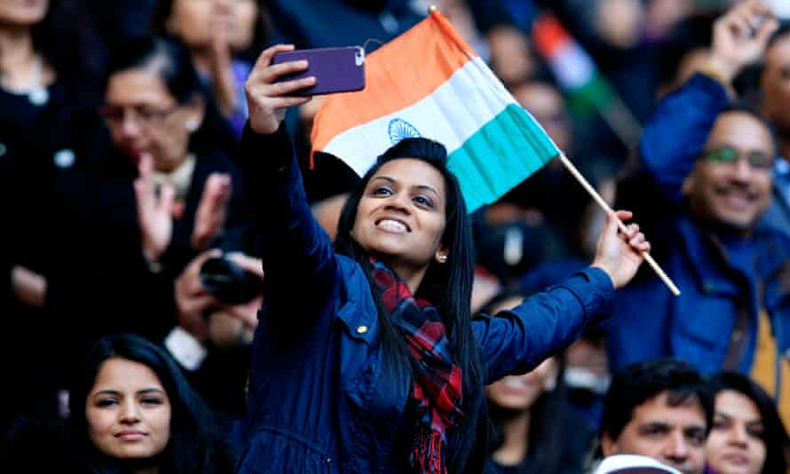 Selfie time at Wembley