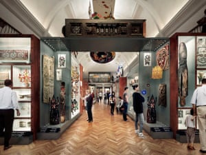 Visualisation of the new gallery, planned for June 2018, at the Horniman Museum, Forest Hill, London.