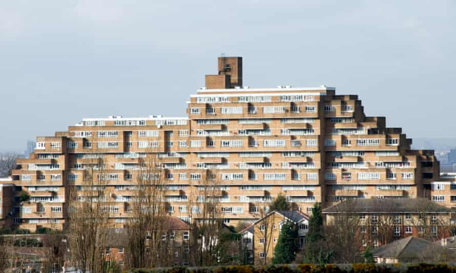 Dawson's Heights estate in south London.