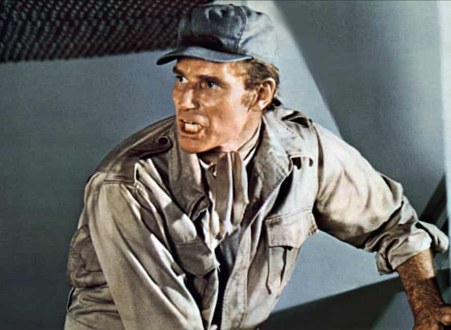 Charlton Heston in Soylent Green.