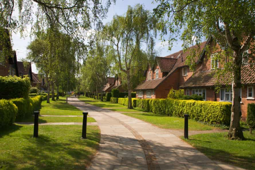Game-changers … Chestnut Grove in New Earswick, England.