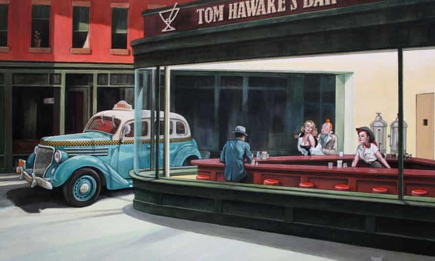 Xavier Marabout's 'Visuel Taxi pour Noctambules.'