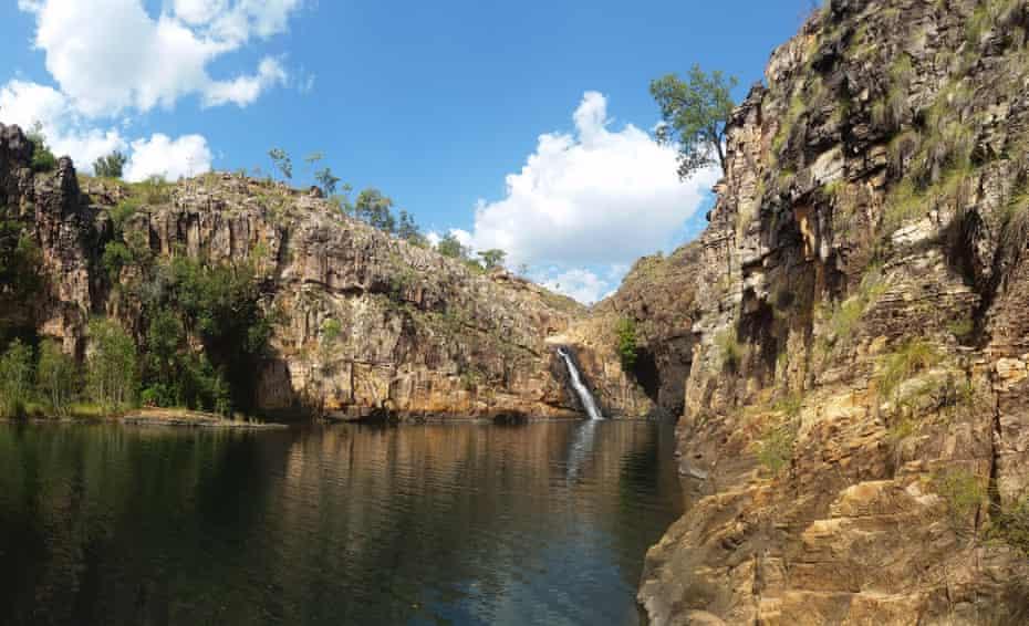 Maguk falls in Kakadu national park, Northern Territory.