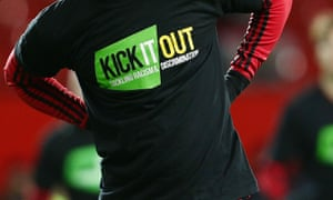 Kick It Out recorded a rise in reports of discrimination across all levels of football last season. 'These figures are not surprising,' says chief executive, Roisin Wood.