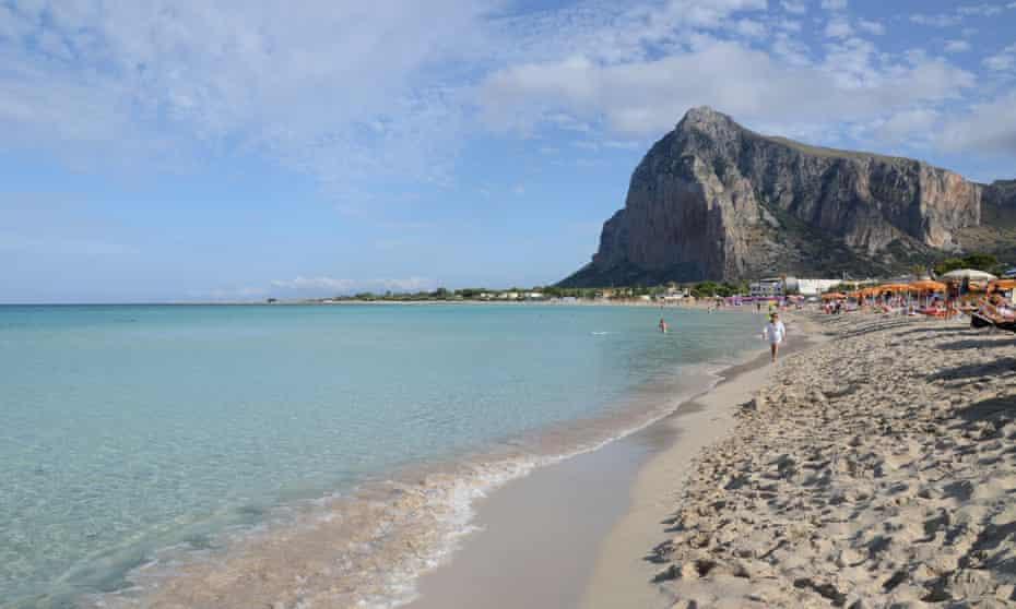 San Vito lo Capo beach Sicily