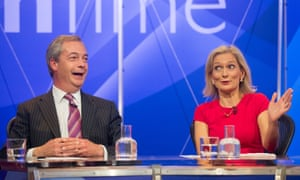 Nigel Farage on Question Time panel
