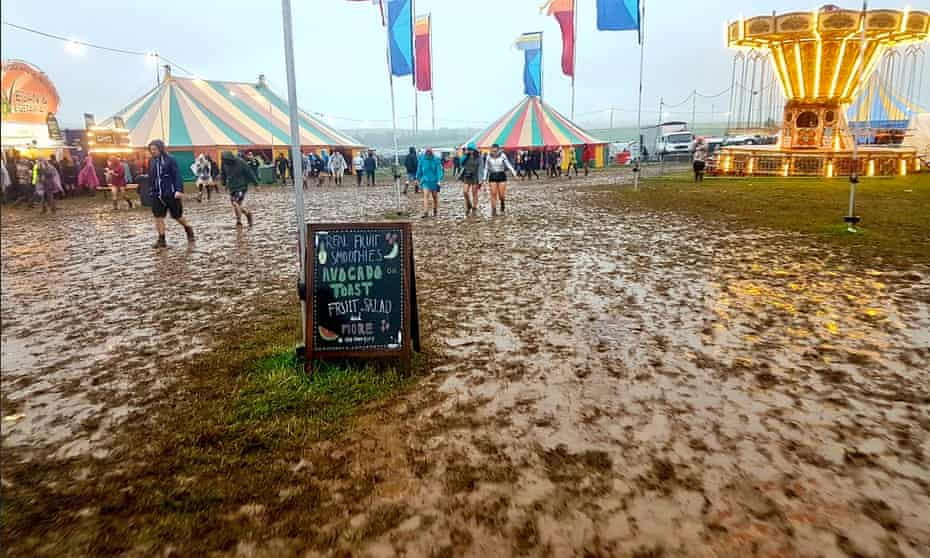 The mudbath at Y Not, which had an entire day cancelled.