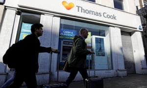 A Thomas Cook shop in London. New owner says a ???significant number??? of jobs will be saved