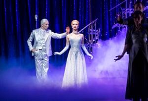 Liam Mower and Ashley Shaw in Cinderella.