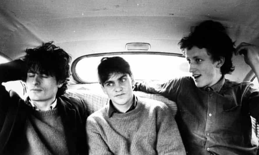 Hamish Kilgour, Robert Scott and David Kilgour of New Zealand band the Clean in 1981, in one of Flying Nun's first publicity shots