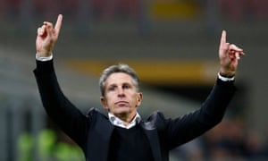Claude Puel has made a positive difference to Southampton but faces a big test at Manchester City on Sunday.