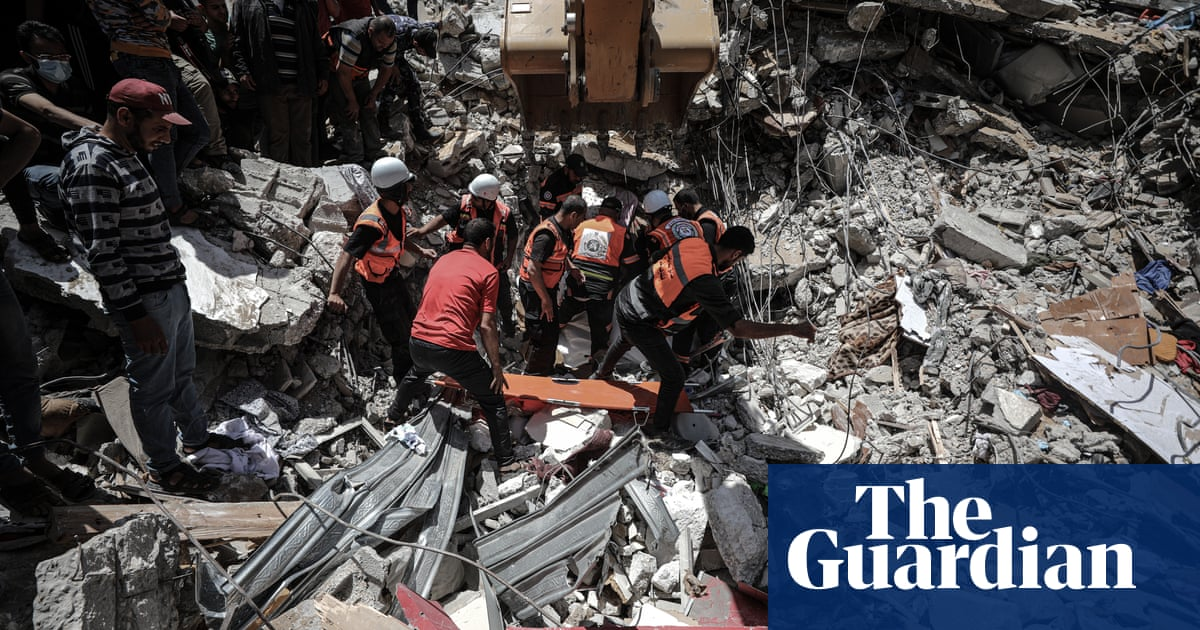 'Every day there is bombing': Israel airstrikes hitting affluent heart of Gaza