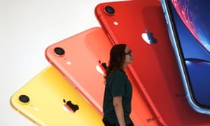 Apple could shield consumers but concern over the trade dispute pushed shares down more than 5% on Monday, to $186.