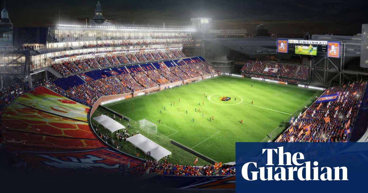 FC Cincinnati: the third-tier US soccer team pulling in 20,000 fans