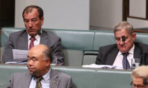 Mal Brough during question time.