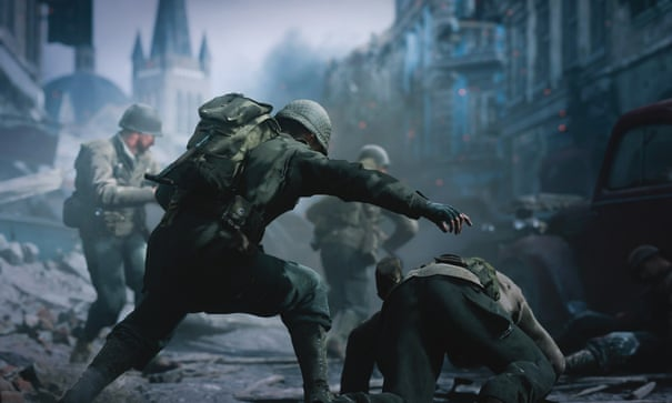 Call of Duty WWII is about killing for fun  Why pretend