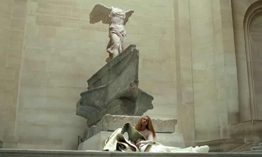 Beyoncé and Jay-Z at the Louvre.