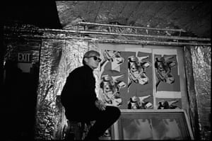 Andy with Cow Wallpaper, The Factory, 1965