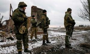 Ukraine separatist forces