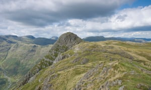 Pike O' Stickle - one of the Langdale Pikes and the site of an ancient stone axe factory.