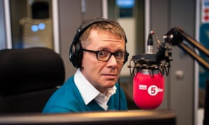 Nicky Campbell presenting 5 Live.
