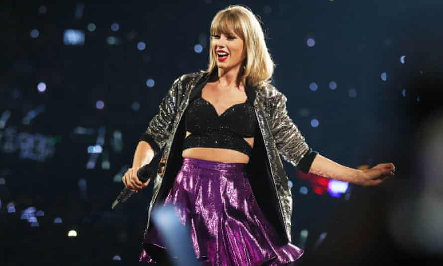 Taylor Swift on her 1989 world tour.