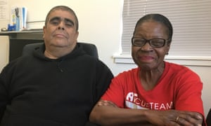 Hector Chavez and Yvonne Scott: 'Money has not trickled down to us.'