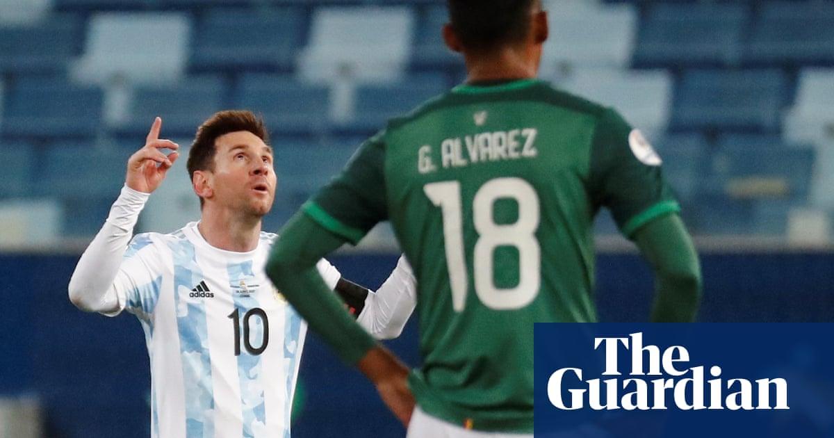 Lionel Messi scores twice as Argentina overrun Bolivia at Copa América