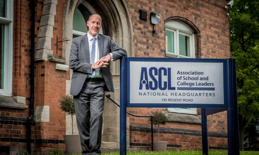 Geoff Barton, general secretary of the Association of School and College Leaders (ASCL)